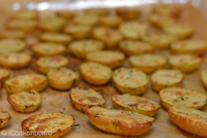 Oven Roasted Potatoes in Olive Oil and Thyme