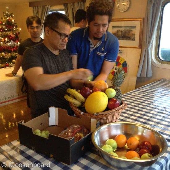 BTS - Christmas 2016 Onboard Ardea