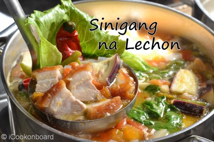 Sinigang na Lechon Photo by Nino Almendra