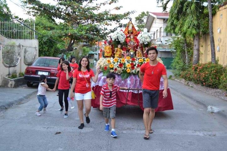 Sto. Niño Festival in the city of Biñan