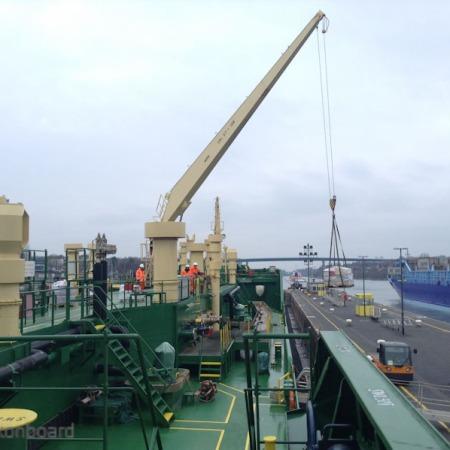 Provisions at Kiel Canal, Germany