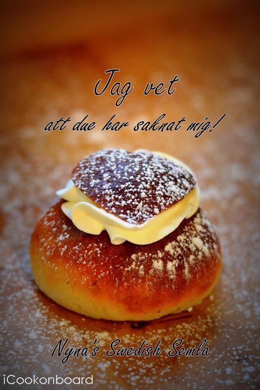Nyna's Swedish Semla