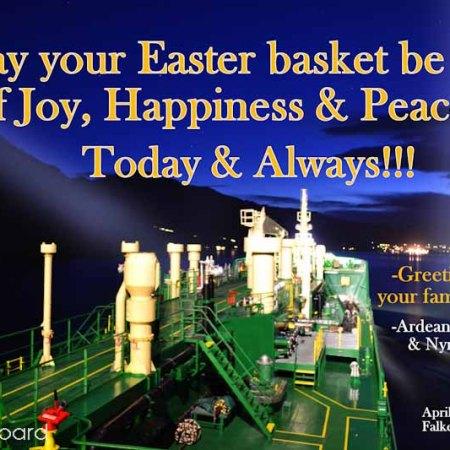 Easter 2017 Onboard Ardea