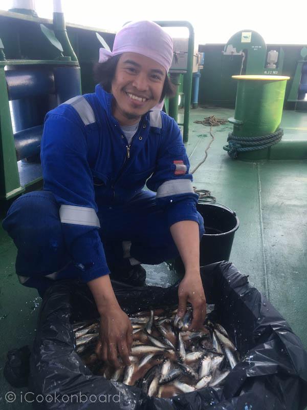 Crispy Fried Herring Fish (Tamban)