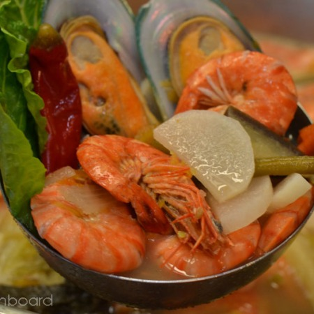 Sinigang na Hipon at Tahong