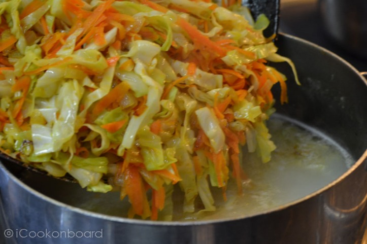 Shchi Russian Traditional Cabbage Soup