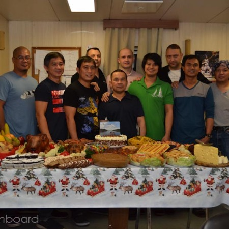 Christmas 2019 Onboard Stoc Marcia